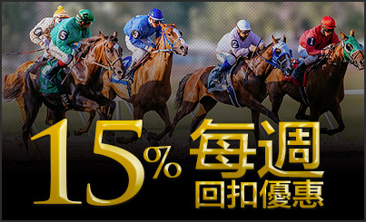 15% Rebate Horses