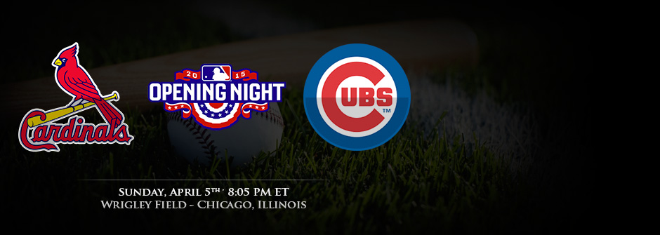 MLB 2015 Opening Night