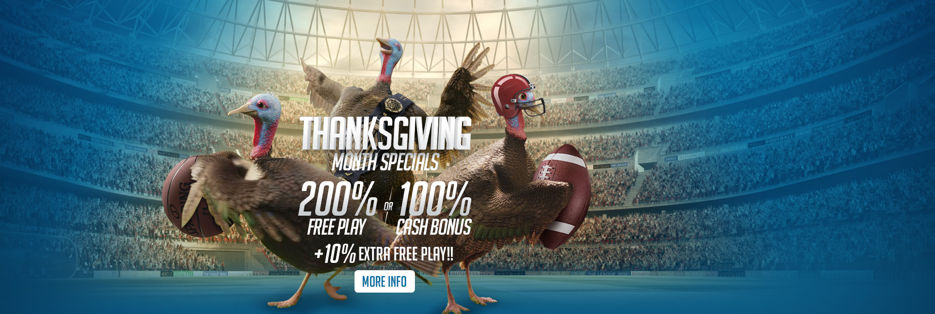 Thanksgiving Month Specials