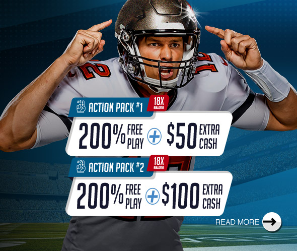 NFL DUAL ACTION PACK!