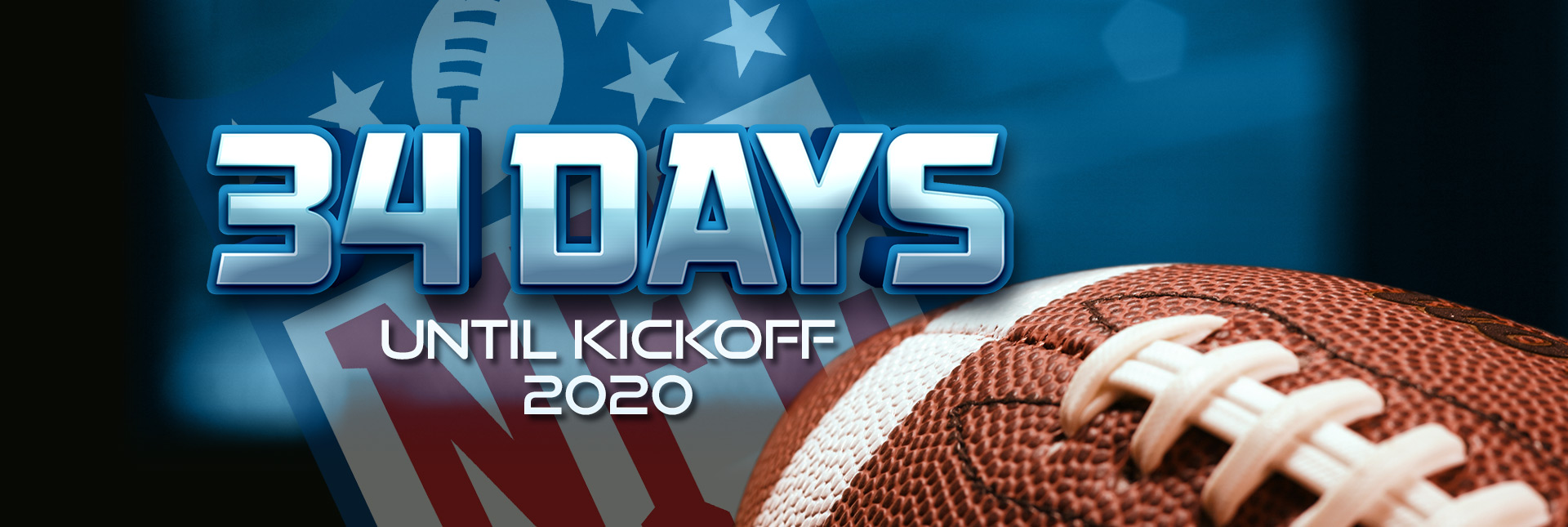 NFL: Countdown to September 10th, 2020