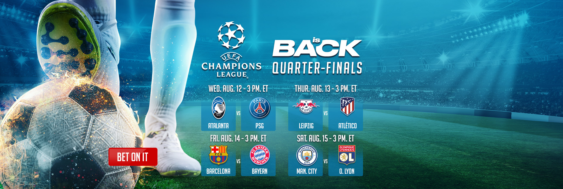 UEFA Champions League Quarter-finals
