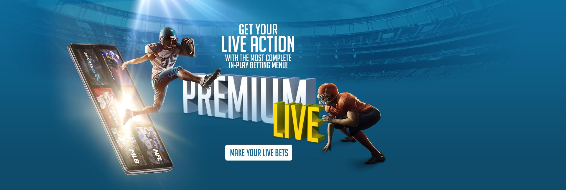 Premium Live Betting