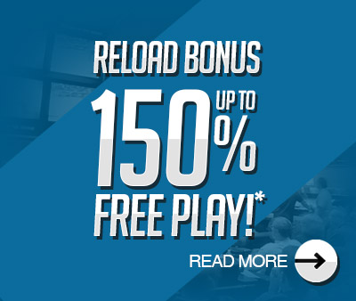 Up to 150% Free Play!
