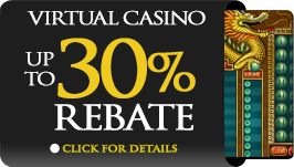 Virtual Casino Rebate