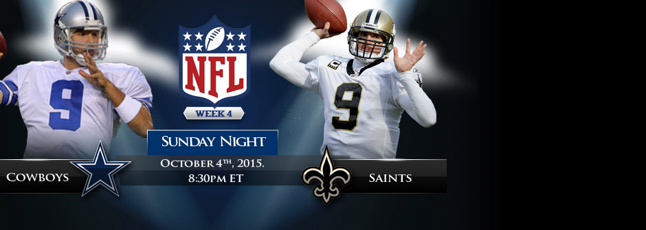 SNF - Cowboys vs Saints