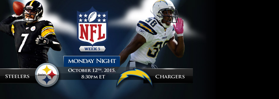 MNF - Steelers vs Chargers