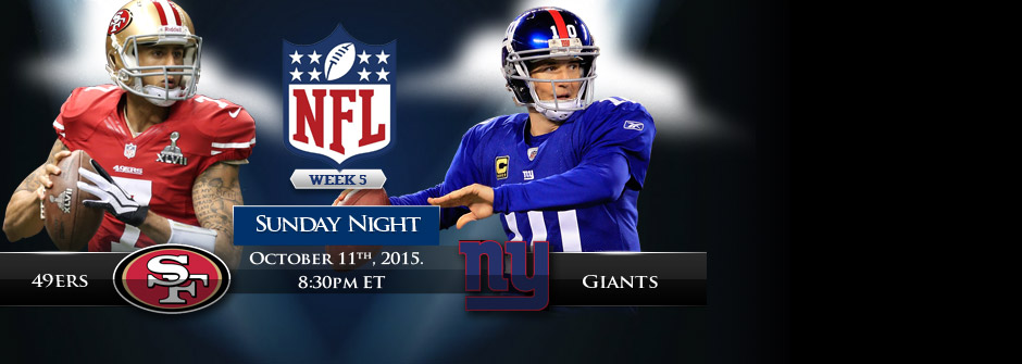 SNF - 49ers vs Giants