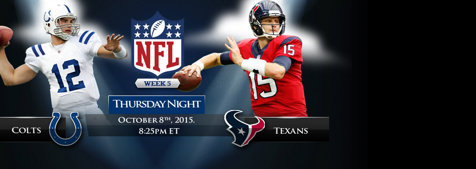 TNF - Colts vs Texans