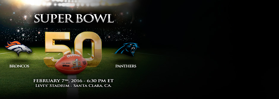 Super Bowl 50 Broncos vs. Panthers
