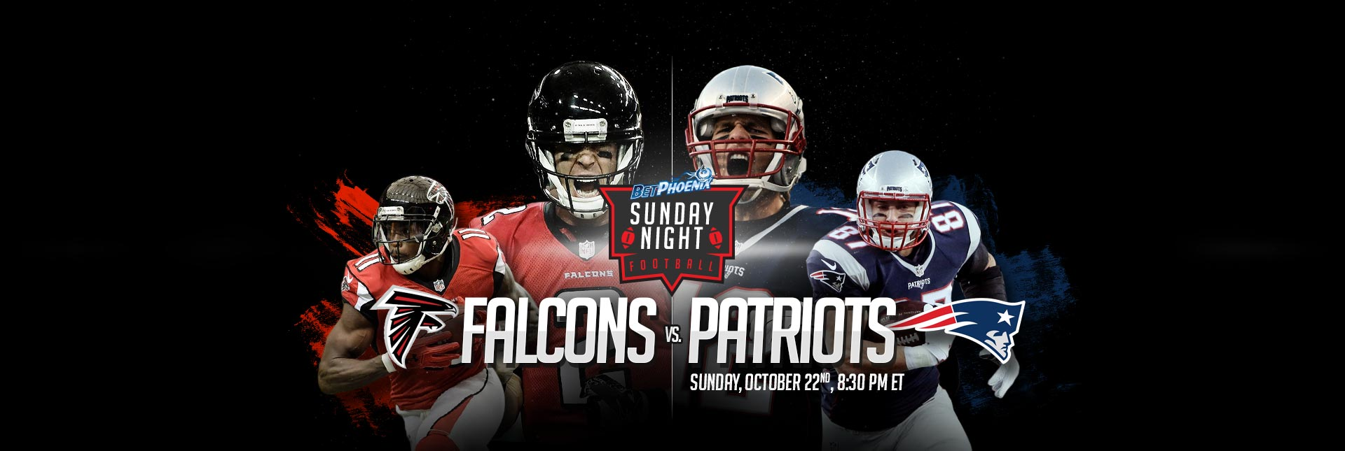 SNF - Falcons vs Patriots