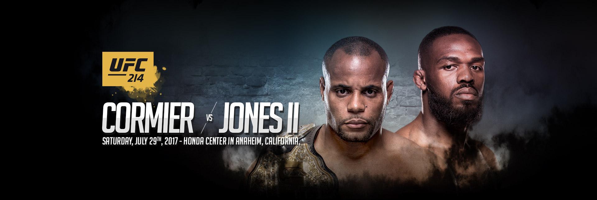 Cormier vs. Jones 2 - UFC 214