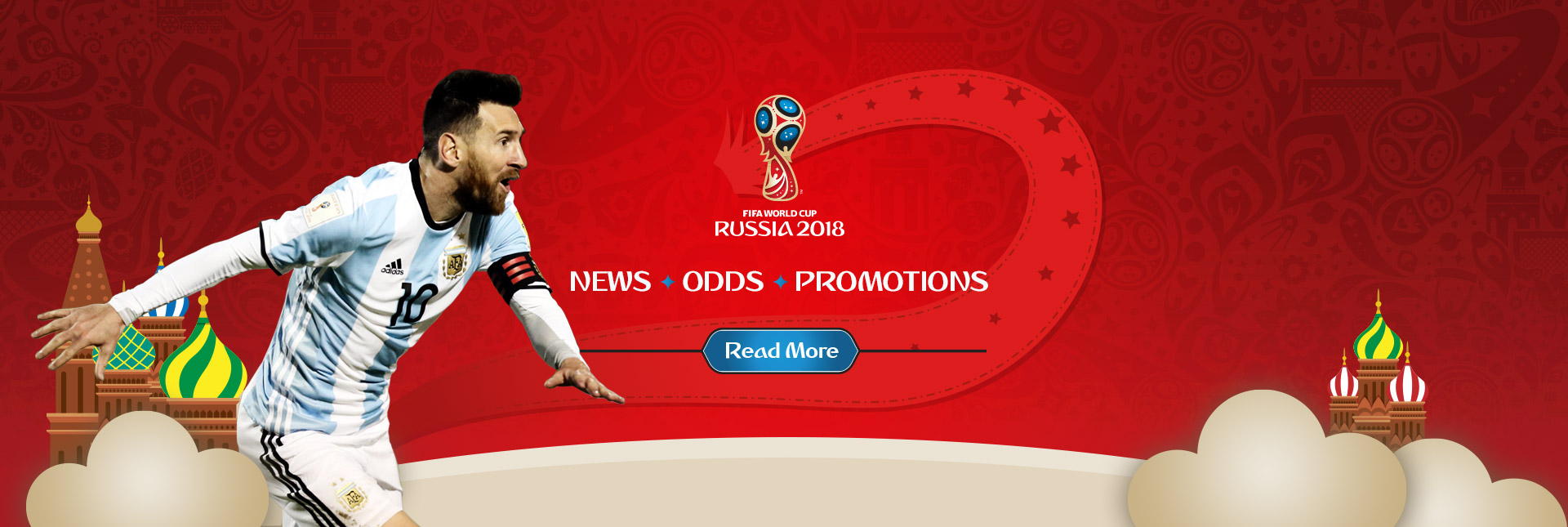 World Cup 2018 News & Odds