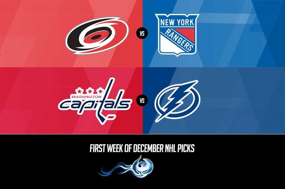 First Week Of December NHL Picks