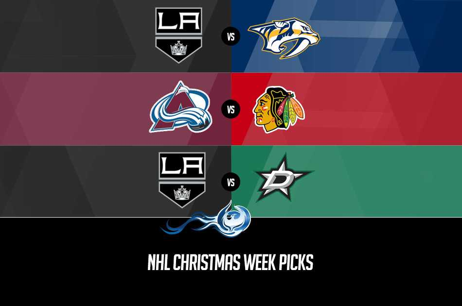 NHL Christmas Week Picks
