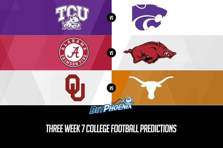 Three Week 7 College Football Predictions
