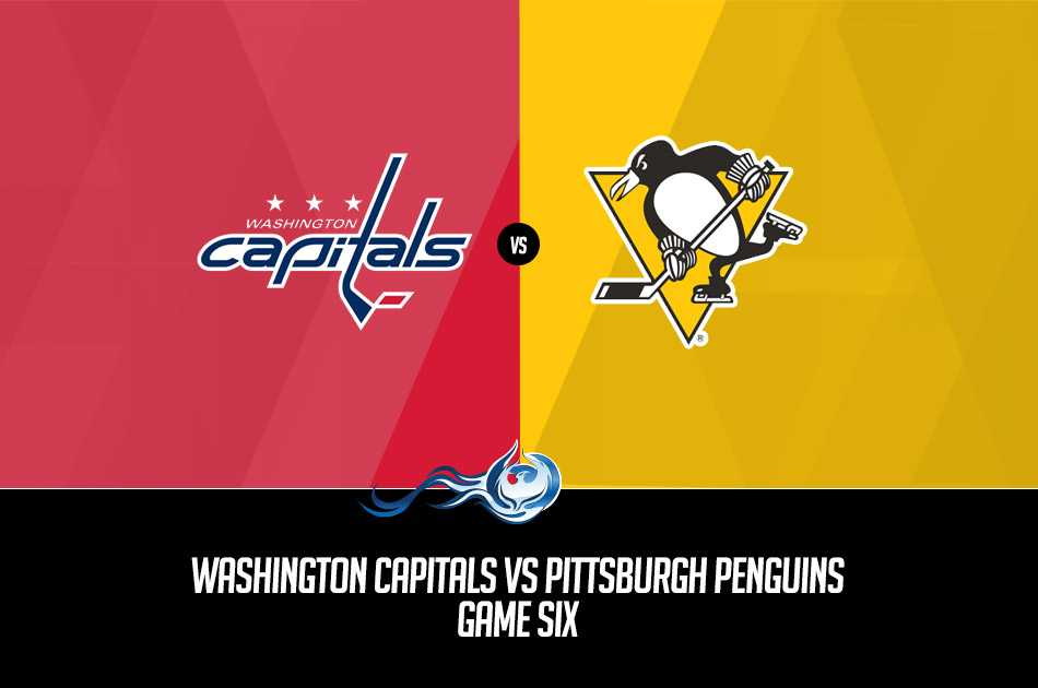 aeb9c619a1d NHL Stanley Cup Playoffs 2017 Prediction  Capitals vs Penguins Game Six.  What  Washington Capitals vs Pittsburgh Penguins ...