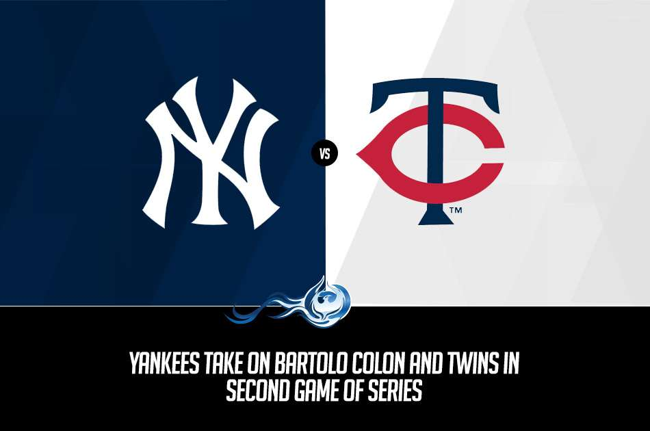 Bet on Yankees vs. Twins today