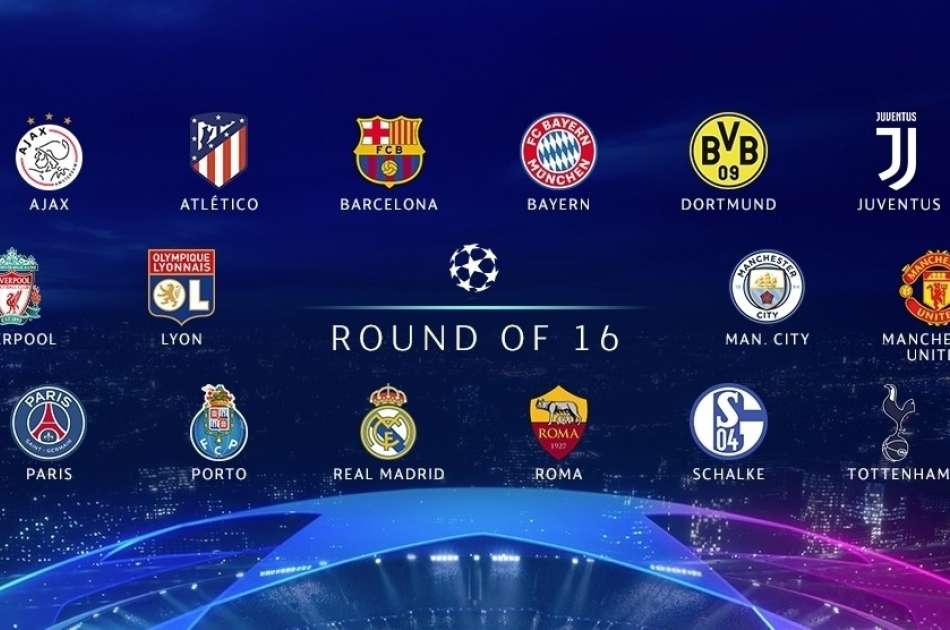 betting the 2019 champions league round of 16. Black Bedroom Furniture Sets. Home Design Ideas