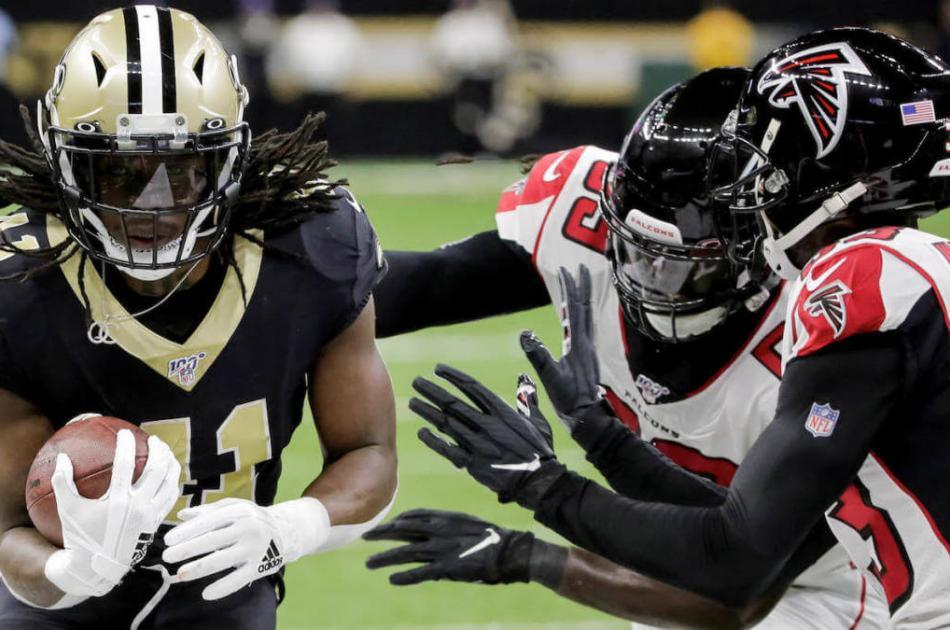 Saints at Falcons 2019