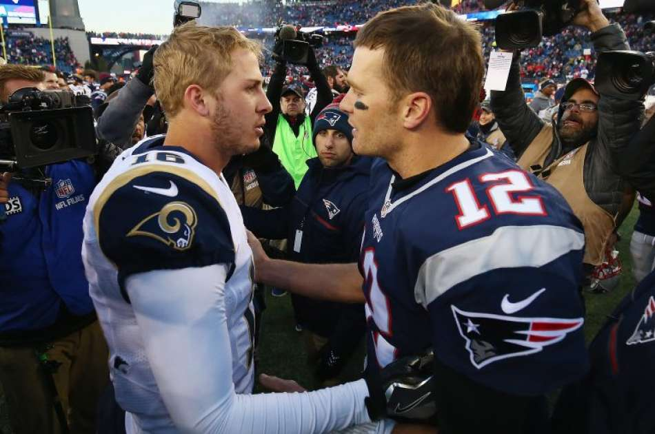 Patriots vs Rams Super Bowl 53