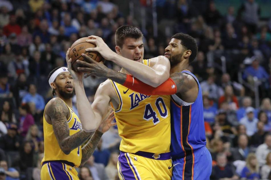 Thunder vs. Lakers 2019