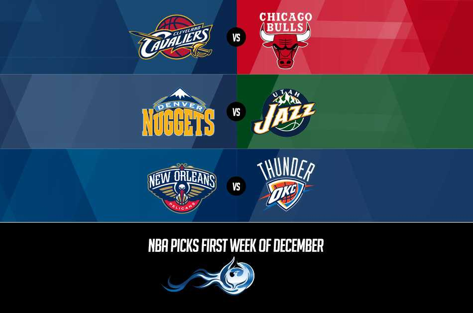 NBA Picks First Week Of December