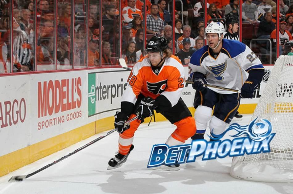 Flyers vs Blues NHL