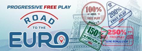 Euro Progressive Bonus + 10K Bracket Contest