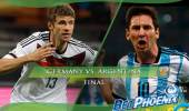Bet on Germany vs Argentina 2014 World Cup Final