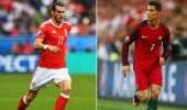 Euro Cup Semi Finals Wales vs Portugal