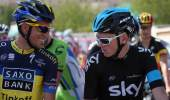 Chris Froome and Alberto Contador