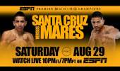 Fight Preview: Leo Santa Cruz vs Abner Mares