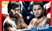 Manny Pacquiao vs. Chris Algieri for the WBO Welterweight title