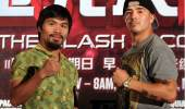 Manny Pacquiao and Brandon Rios