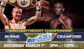 Terence Crawford vs. Ricky Burns