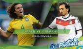 2014 World Cup Semi-finals: Brazil vs. Germany