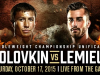 Madison Square Garden Boxing: Golovkin vs Lemieux on HBO PPV