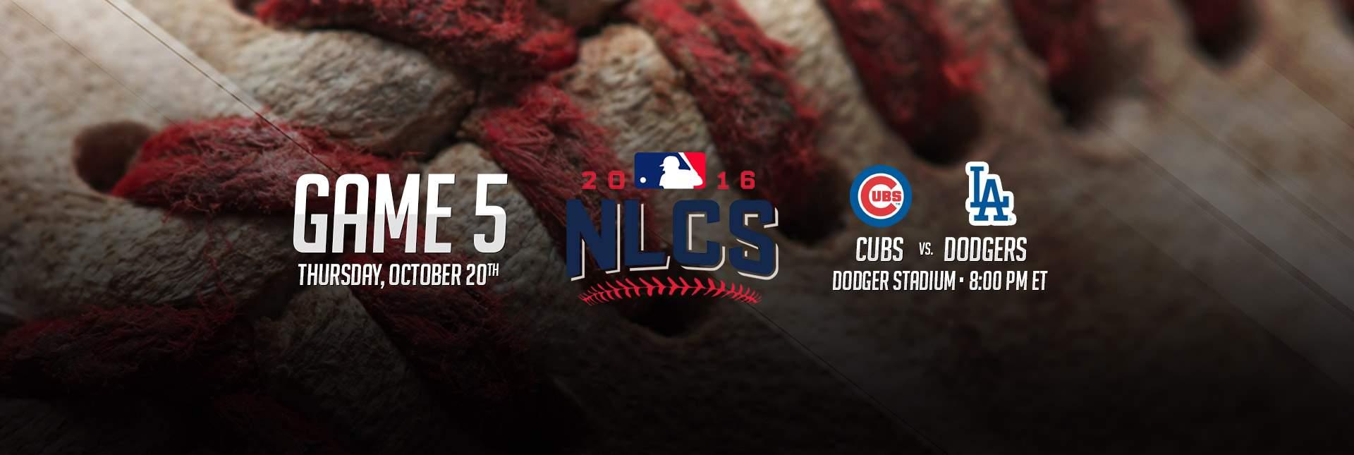 Cubs vs Dodgers Game 5