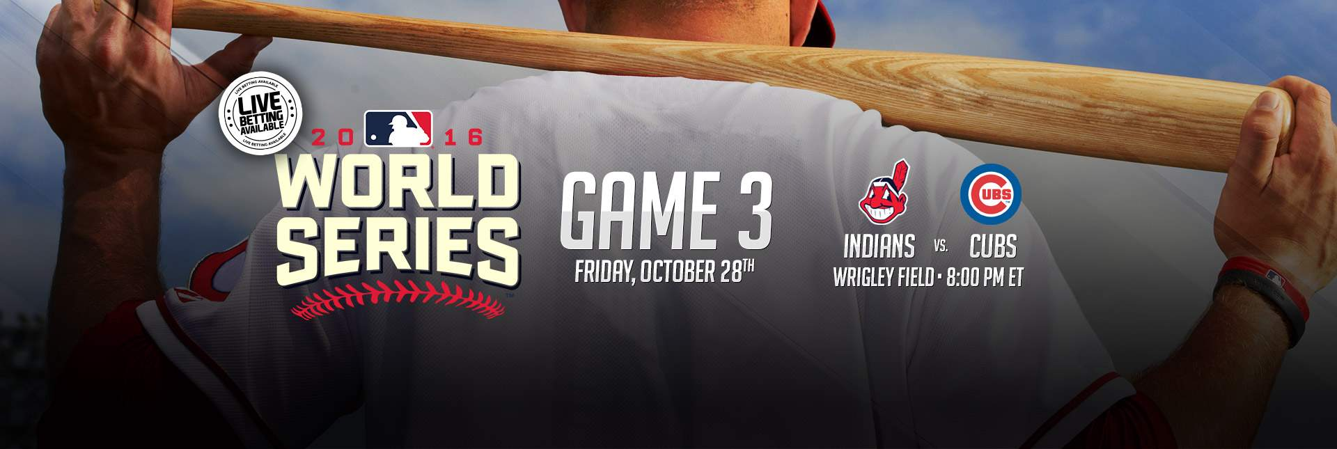 Indians vs Cubs World Series Game 3