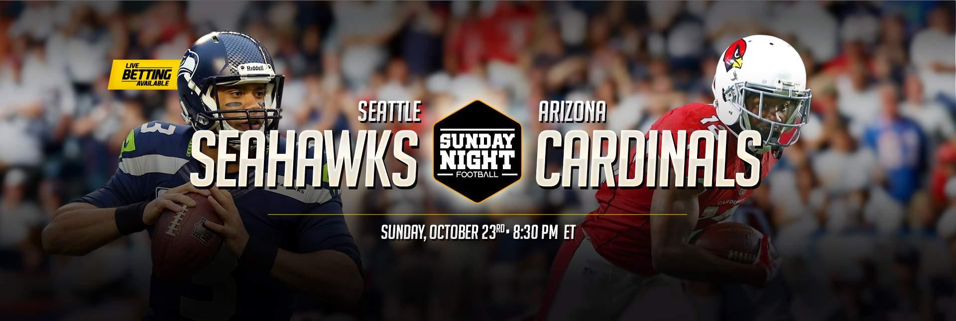 SNF Seahawks vs Cardinals