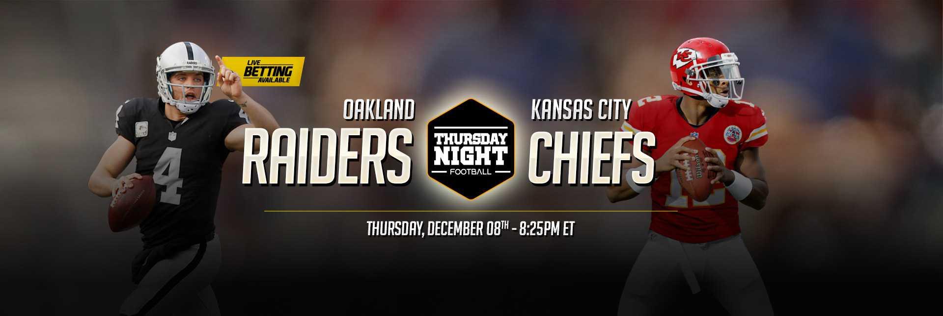 Raiders vs. Chiefs