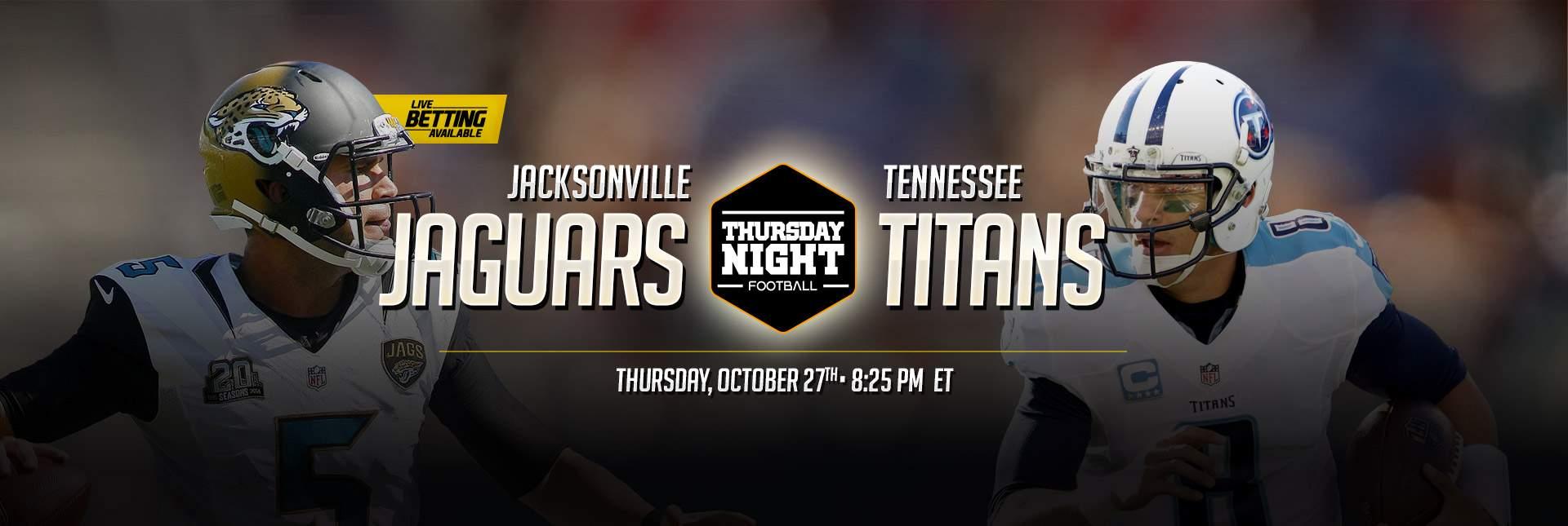 Bet on Jaguars vs Titans