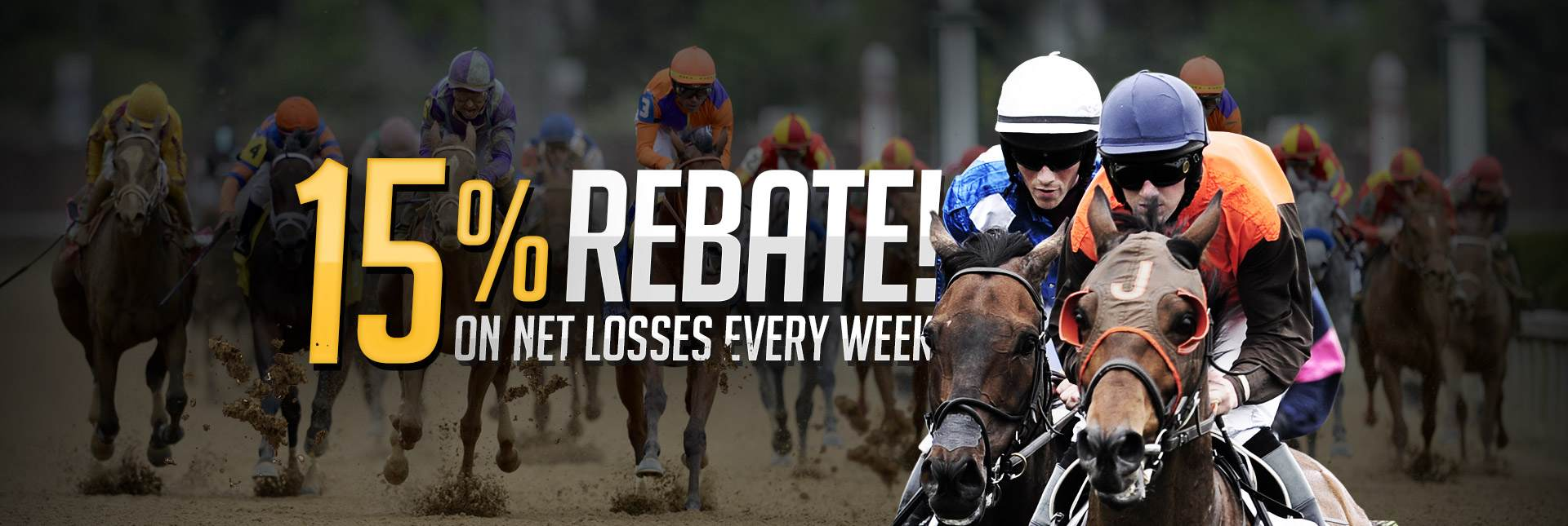 Racebook Weekly Rebate