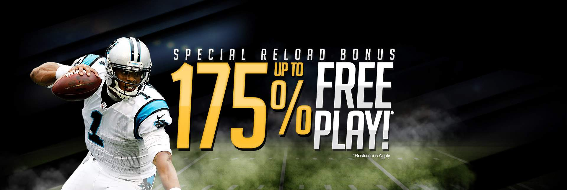 Up To 175% Free Play