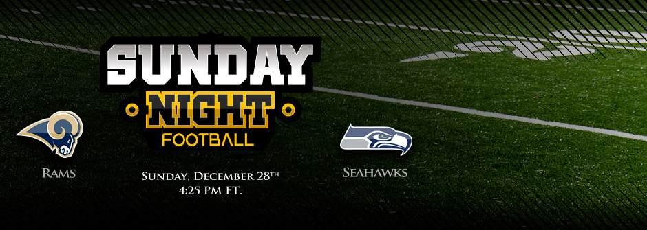 Rams vs Seahawks - SNF
