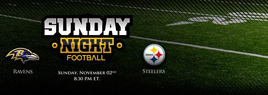Sunday Night Football Betting - Ravens vs. Steelers