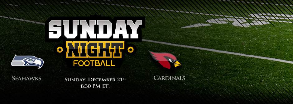SNF Seahawks vs Cardinals Week 16