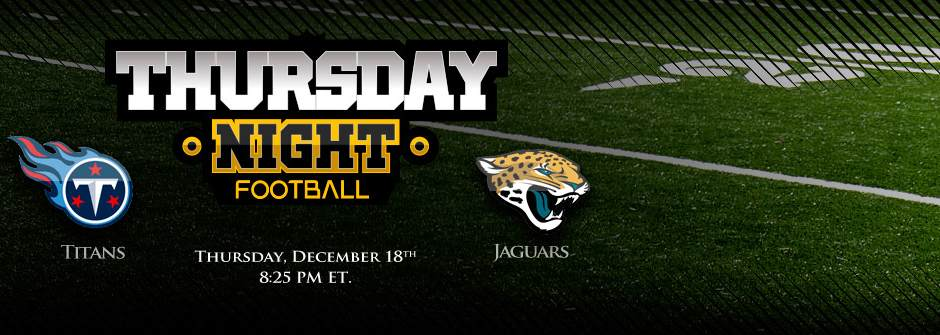 Titans vs Jaguars - Thursday Night Football