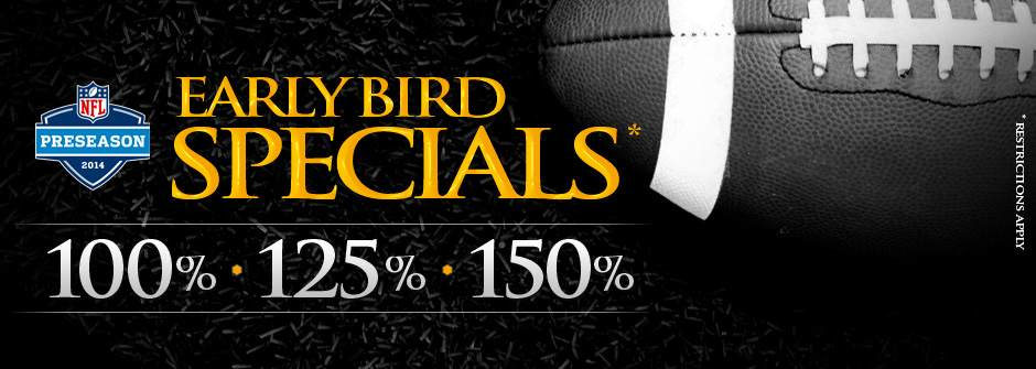 Early Bird Specials NFL
